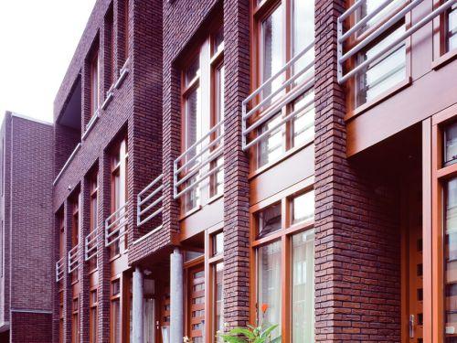 Foto voorgevel nieuwbouw voorgevel Burgemeester Prinsensingel te Roosendaal