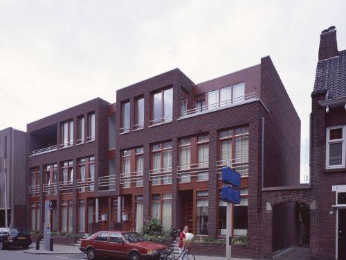 Artist impression herontwikkeling voorgevel Burgemeester Prinsensingel te Roosendaal
