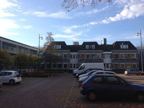 Achterzijde gemeentehuis Bergeijk
