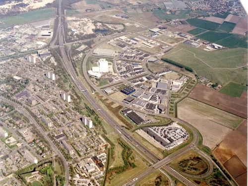 Luchtfoto Hoogeind II te Breda