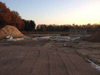 Fundering kavel 25 planfase 1A Nuenen West