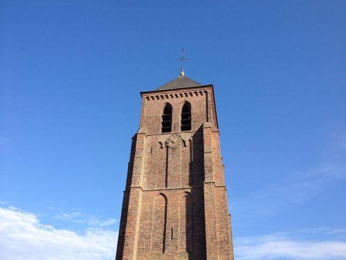 De oude toren te Luyksgestel