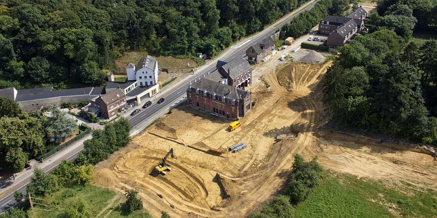 Bouwrijp maken kloostercomplex Cadier en Keer