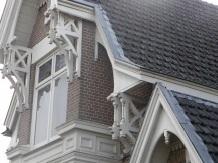 Foto voorgevelfragment Hoveniersweg 27 te Tiel