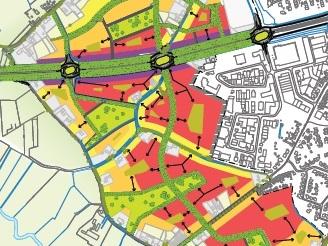 Stedenbouwkundige structuuropzet Nuenen West