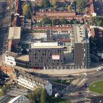 Luchtfoto kantoorgebouw Obelisk