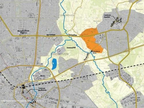 Ligging project Nuenen West